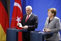 PM Yıldırım, Germany's Merkel voice hope for better relations