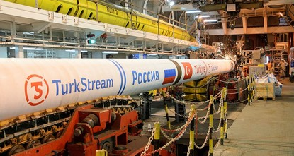 pNew U.S. sanctions against Russia could jeopardize Nord Stream 2 and TurkStream projects's finish, Russian energy giant Gazprom warned Tuesday./p  pIn its third quarter report, GazProm said the...