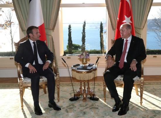 Erdoğan holds bilateral meetings with Merkel, Putin, Macron ahead of Istanbul summit on Syria