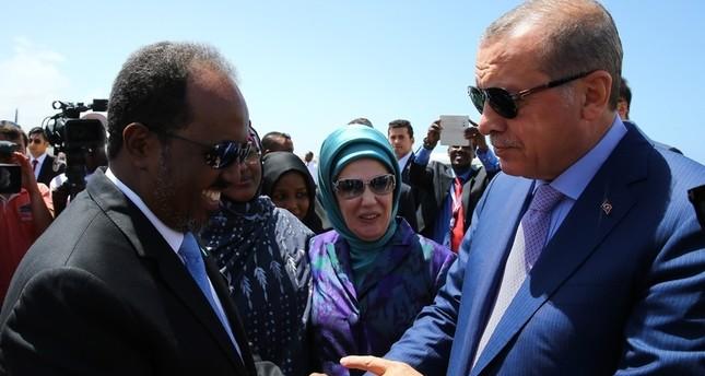 أردوغان يتعهد ببناء مبنى جديد للبرلمان الصومالي كهدية من الشعب التركي