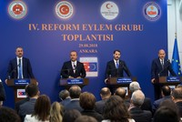 Turkey to speed up EU reforms, expects results in visa liberalization, Customs Union