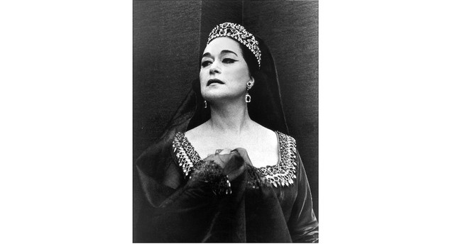 Today is the 11th anniversary of soprano Leyla Gencer's death.