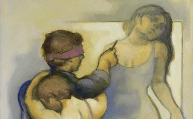 Orhan Taylan, oil on canvas, 100x80 cm.