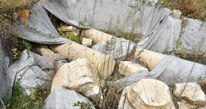 أماسرا التركية تحسر عن كنوزها التاريخية مع الكشف عن أعمدة أثرية