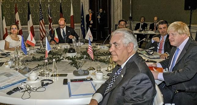 مجموعة دول السبع تتفق على أن لا حل في سوريا مع بقاء الأسد في السلطة