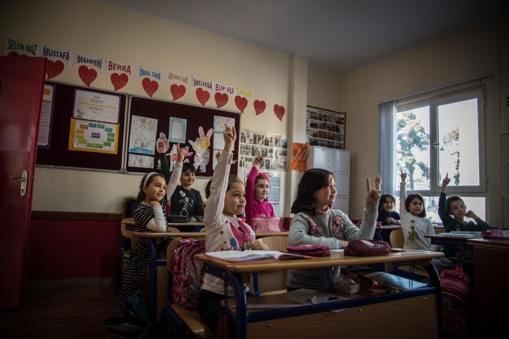 The school is run by the Turkish Ministry of National Education (MEB) and 50 Turkish students here do not lose any educational years in comparison to their peers in Turkey.