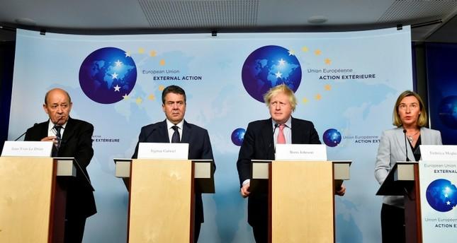 اجتماع وزراء الخارجية للدول الأوروبية لبحث طرق إنقاذ الاتفاق النووي مع طهران (من الأرشيف)