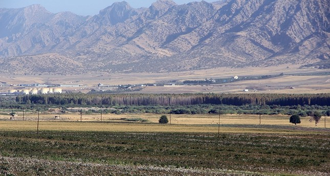 Ovaköy village, where the new border gate between Turkey and Iraq will be located (DHA Photo)