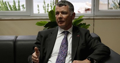 pRichard Moore, the British Ambassador to Ankara, said that his country supports its citizens to come to Turkey during a visit to Turkey's Mediterranean resort town of Fethiye's District Governor...