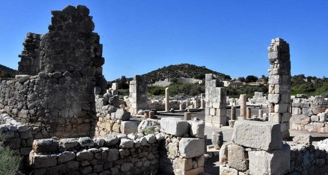 The large, ancient site of Patara lies 70 km southeast of the well-known tourist town of Fethiye and was a leading Lycian port. DHA Photo