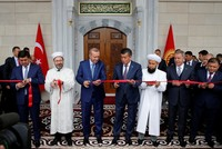 Erdoğan inaugurates Central Asia's largest mosque in Kyrgyzstan