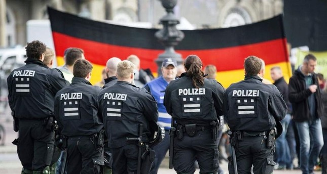 Thousands of supporters of the anti-migrant organization PEGIDA gathered to celebrate the second anniversary of the group's founding, Dresden, Oct. 16, 2016.