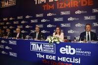 وزيرة التجارة التركية روهصار بكجان (الثانية من اليمين)