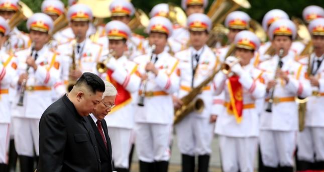 كيم جونغ أون يصل فيتنام في زيارة رسمية