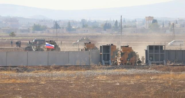 الدورية التركية الروسية الثانية تستكمل نشاطاتها شرقي عين العرب