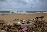 Secretary-General Antonio Guterres opened the first U.N. conference on oceans Monday with a warning that the seas are