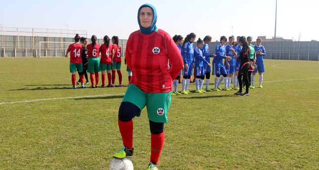 Age 49 just a number for female footballer in southeastern Turkey