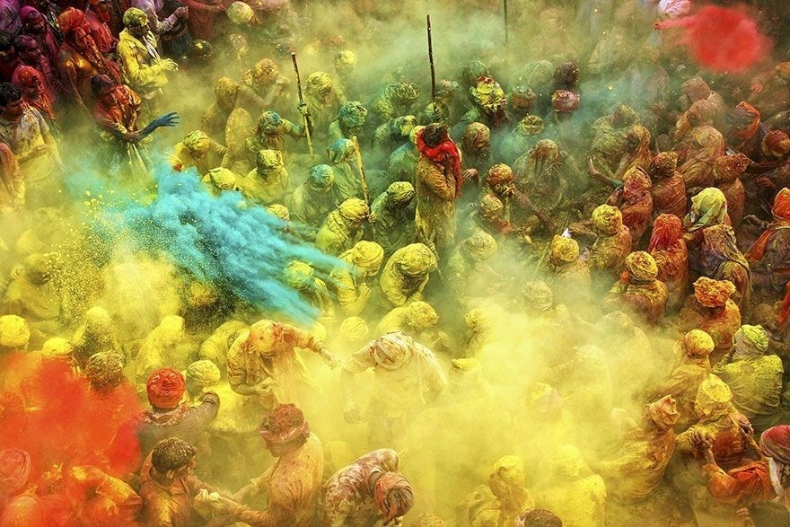 Game of Colors, Uttar Pradesh, India - 2nd place, Splash of Colors