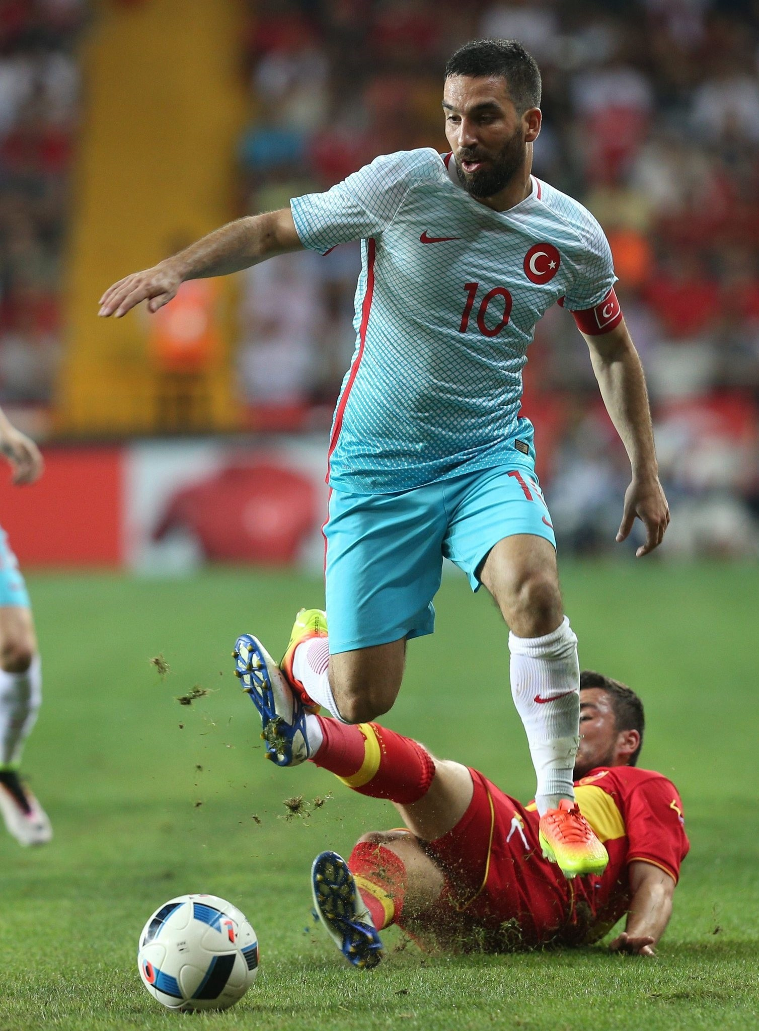 Arda Turan may play today against Finland.
