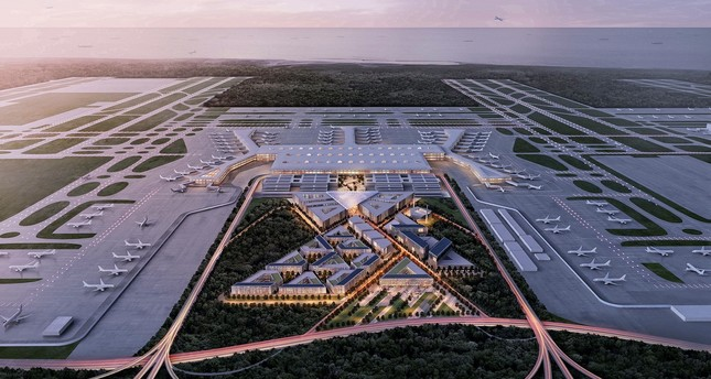 Istanbul New Airport is one of Turkey's largest construction project ever with investments of approximately 40 billion euros, planned to go operational in 2018.