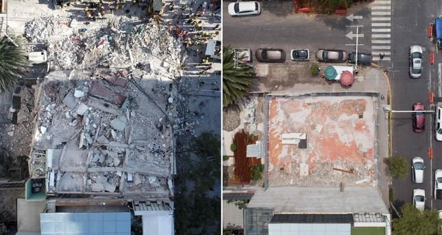 Sept. 19: Mexico remembers victims of deadly earthquakes on anniversary