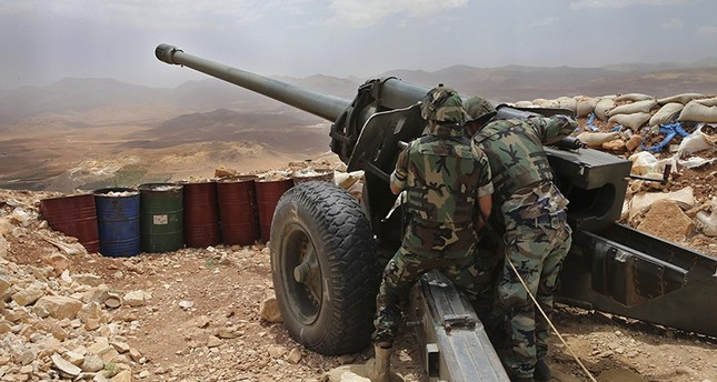 موقع مدفعية للجيش اللبناني AP