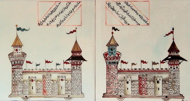 Deniz Erdoğan, Castle – Tower