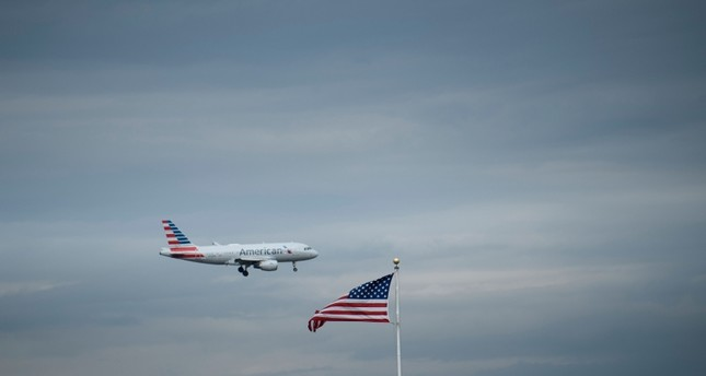 In this file photo taken on May 09, 2019, an American Airlines passenger jet approaches Ronald Reagan Washington National Airport, in Arlington, Virginia. AFP Photo