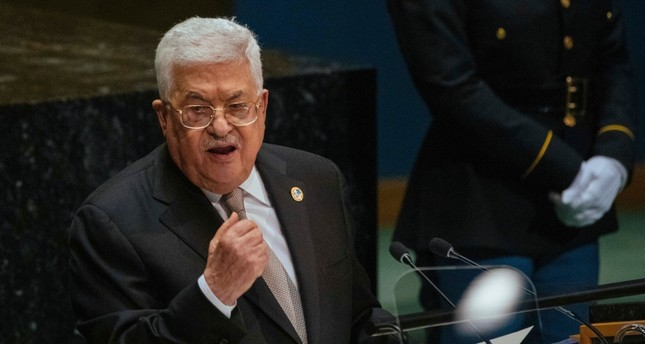 Palestinian President Mahmoud Abbas addresses the United Nations General Assembly at U.N. headquarters Thursday, Sept. 26, 2019.  AP Photo