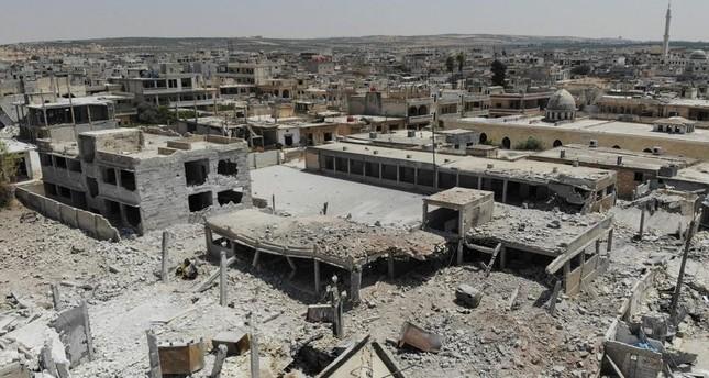 Assad-Truppen dringen in Chan Scheichun ein