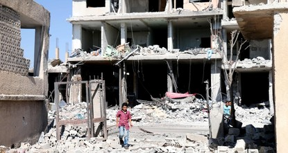 12 civilians killed in airstrikes in southern Syria opposition holdout