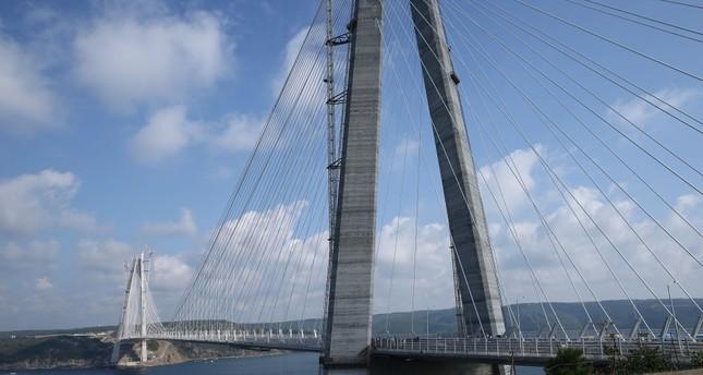 Istanbul's Yavuz Sultan Selim bridge toll set to be $3 plus VAT