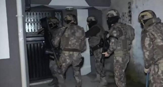Turkish police detain 38 Daesh suspects across Turkey