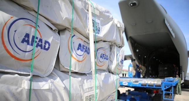 تركيا ترسل طائرة مساعدات ثانية إلى موزمبيق
