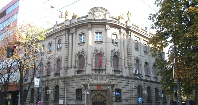 The Turkish embassy in Belgrade, Serbia (Wikipedia Photo)