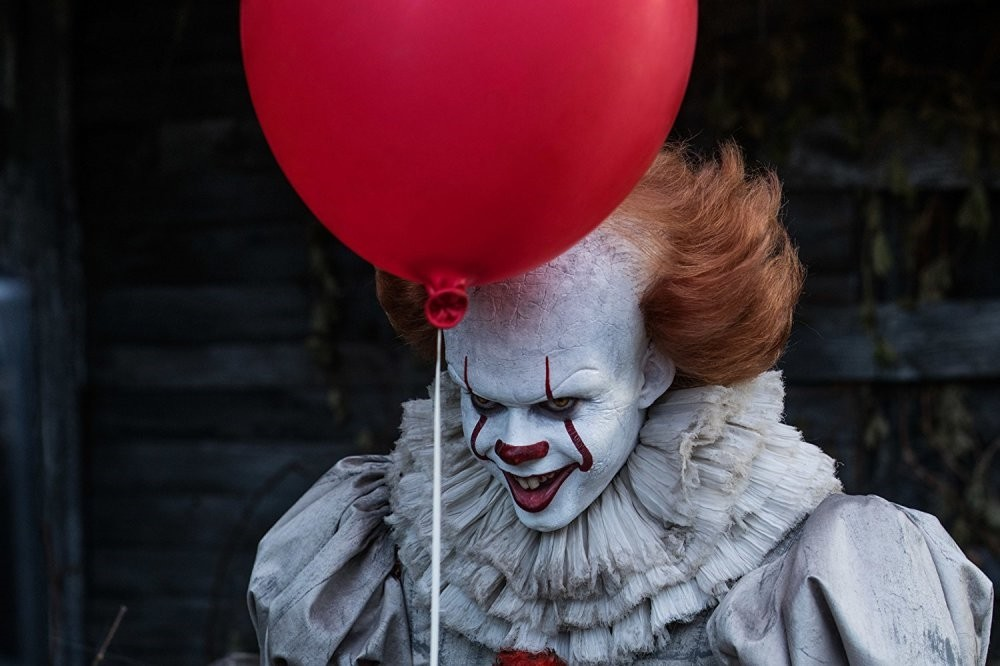 Bill Skarsgard plays the leading role in ,It.,