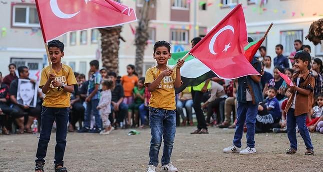 غزّيون يحتفلون بفوز أردوغان بالانتخابات الرئاسية