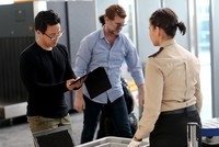 The leading international airline trade organization's top official on Tuesday denounced U.S. and British bans on some electronic devices on flights from several Muslim-majority countries,...