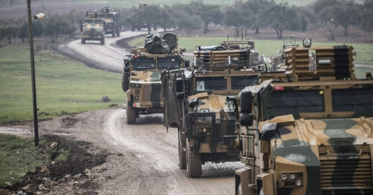 The Turkish Armed Forces has been reinforcing its observation points in northwestern Syria's Idlib for the past weeks, Feb. 13, 2020. (AA Photo)