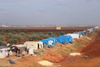 Civilians struggle in refugee camps amid humanitarian tragedy