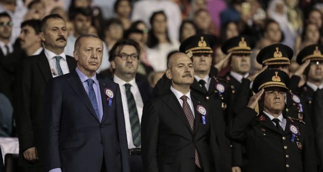 أردوغان يؤكد أن تركيا قضت تماما على الجزء الغربي للحزام الإرهابي شمال سوريا