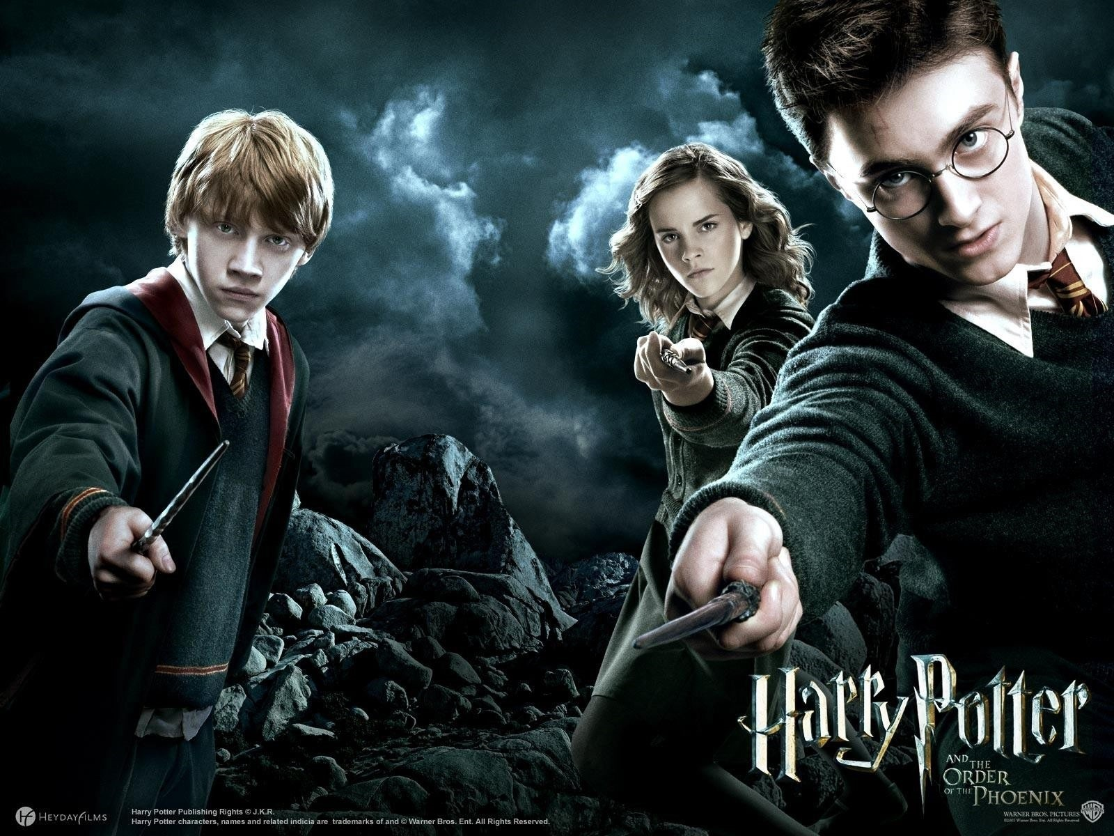 Harry Potter and the Order of the Phoenix film promo poster. (FILE Photo)