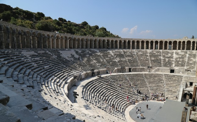 Ancient Aspendos theater