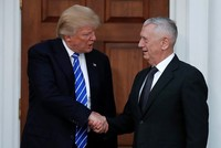 Trump picks retired General James Mattis for Pentagon chief: Washington Post