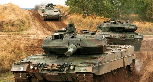 The Turkish military has 354 German-made Leopard tanks.