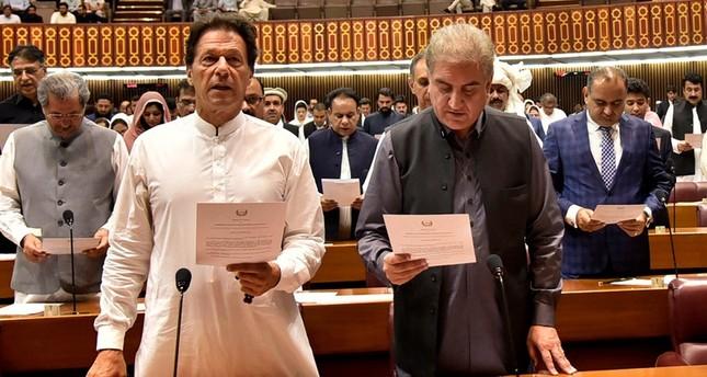 Imran Khan elected as Pakistan's new PM