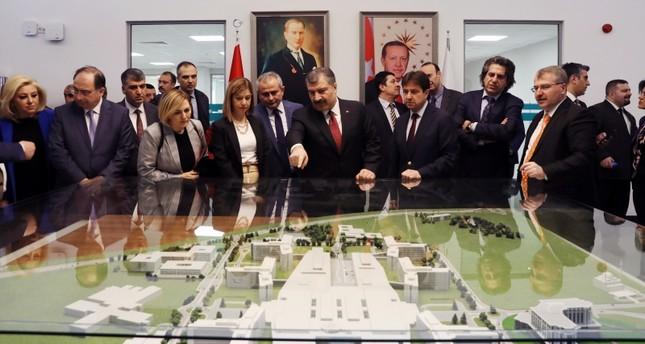 بإمكانيات جبارة.. أردوغان يفتتح ثالث أكبر مستشفى في العالم