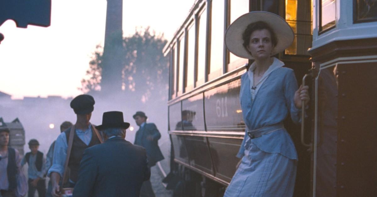 Juli Jakab as Irisz Leiter in ,Sunset.,
