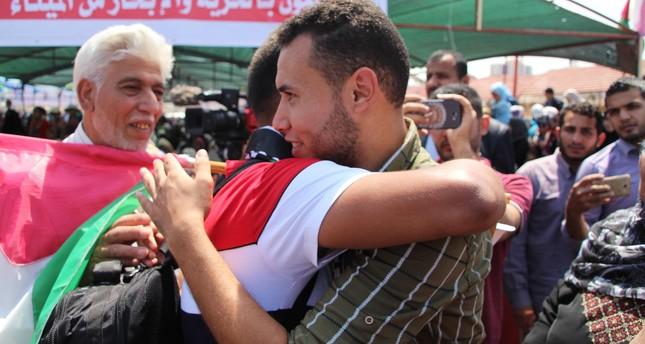 سفينة الحرية انطلقت من ميناء الصيادين في غزة لكسر الحصار