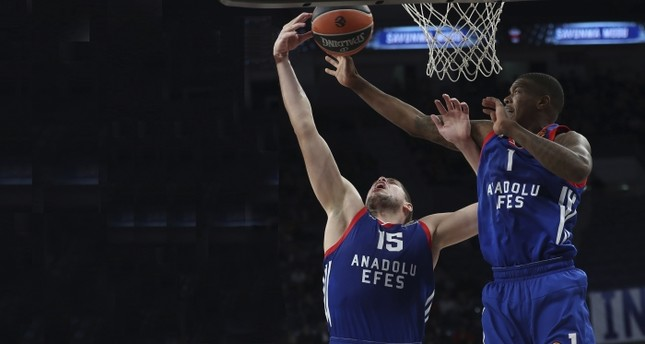 Anadolu Efes to host Crvena Zvezda in EuroLeague Round 17